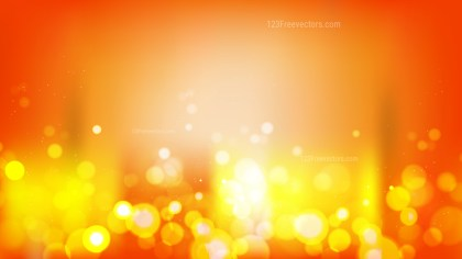 Abstract Red and Yellow Blurred Lights Background Vector