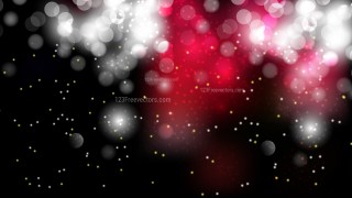 Abstract Red Black and White Blurred Lights Background Vector