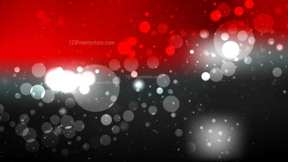 Abstract Red Black and White Defocused Background Vector Illustration