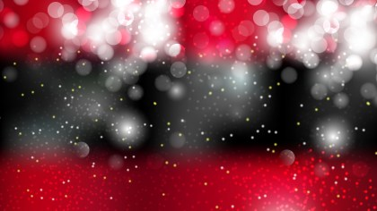 Abstract Red Black and White Blurred Bokeh Background Illustration