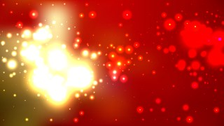 Abstract Red Gold and White Blur Lights Background