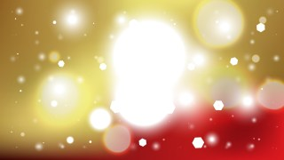 Abstract Red Gold and White Blurred Bokeh Background Vector Image