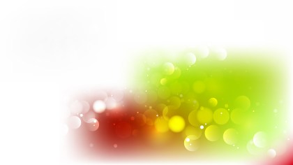 Red Green and White Defocused Background Vector Image