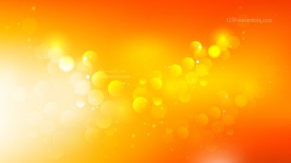 Red Orange and White Blurred Lights Background Graphic
