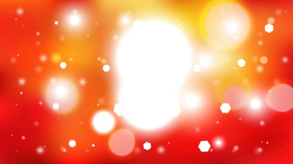 Red Orange and White Lights Background Image