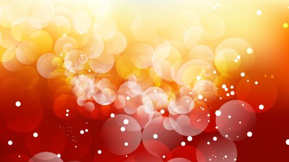 Abstract Red Orange and White Blurred Lights Background