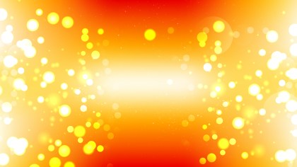 Red White and Yellow Blurred Lights Background Illustrator