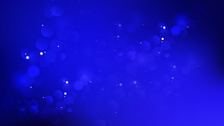 Abstract Royal Blue Blurry Lights Background Vector Illustration
