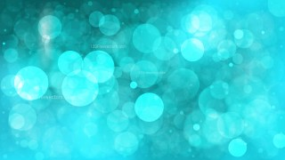 Turquoise Bokeh Background Vector