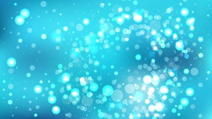 Abstract Turquoise Lights Background Image