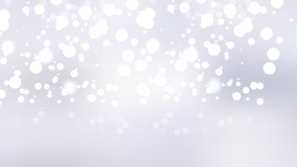 Abstract White Defocused Lights Background