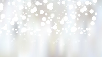 Abstract White Blur Lights Background Vector Graphic