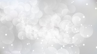 Abstract White Defocused Lights Background Design