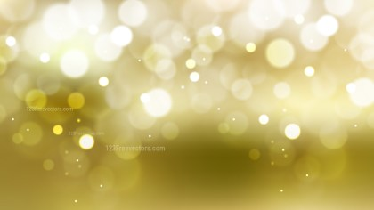 White and Gold Defocused Background