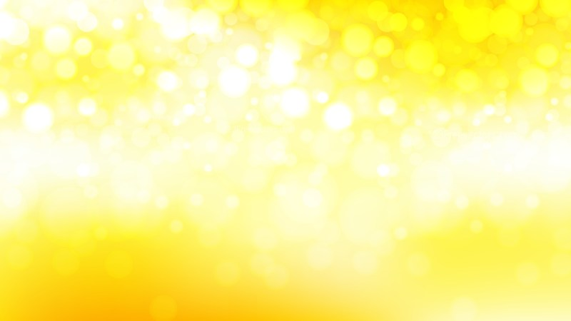 Abstract Yellow and White Lights Background