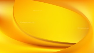Abstract Amber Color Wavy Background