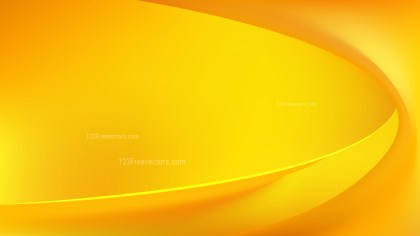 Amber Color Abstract Wavy Background