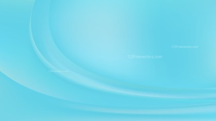 Baby Blue Wave Background Template Graphic