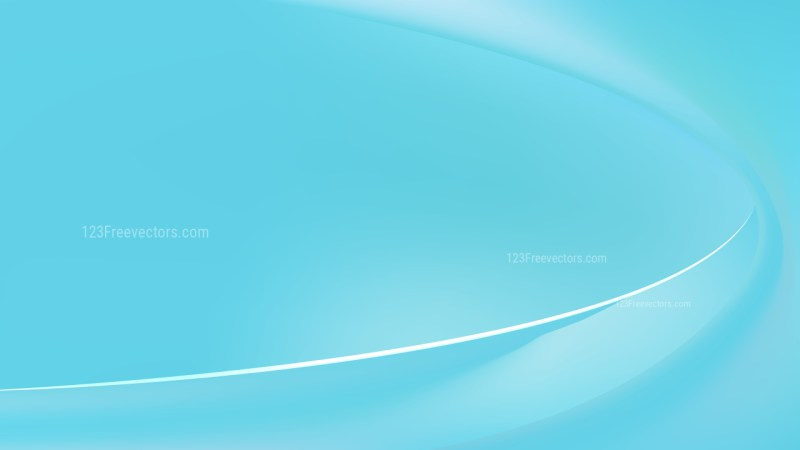Abstract Baby Blue Curve Background