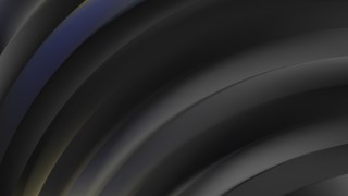 Abstract Black Curved Stripes