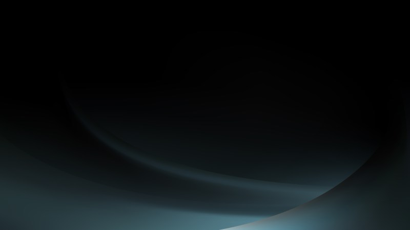Abstract Black and Blue Curve Background