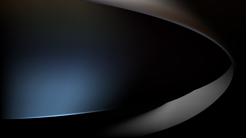 Black and Blue Abstract Wave Background Image