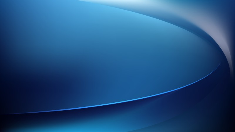Abstract Black and Blue Wave Background Template