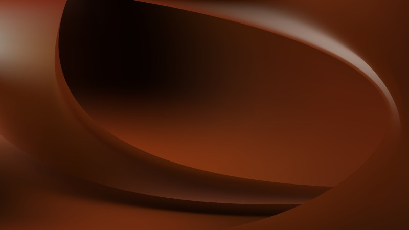 Glowing Abstract Black and Brown Wave Background