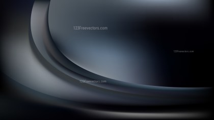 Black and Grey Curve Background Illustration