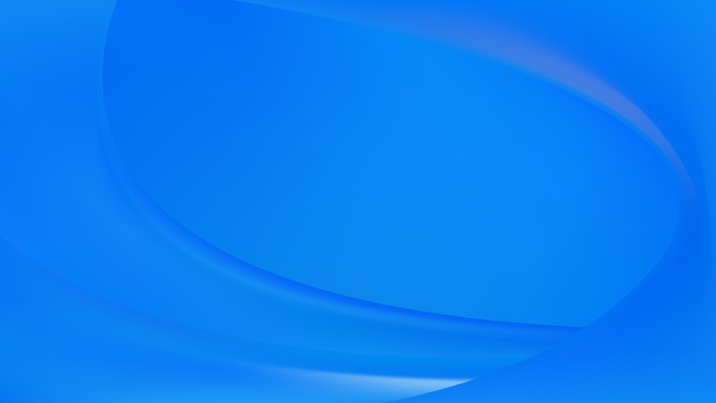 Abstract Glowing Blue Wave Background