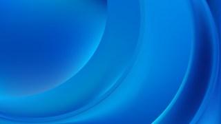 Blue Curve Background Illustration