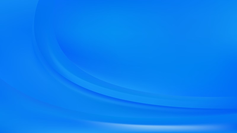 Abstract Blue Wave Background Template Vector