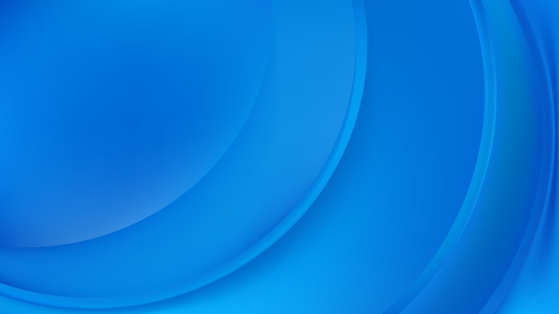 Glowing Blue Wave Background Design