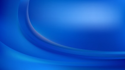 Blue Abstract Wave Background Template