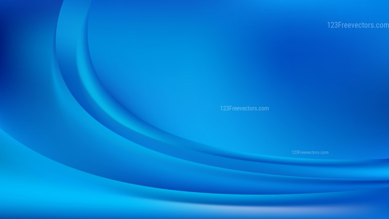 Blue Abstract Wavy Background Illustrator