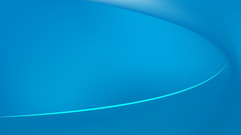 Abstract Blue Wave Background Template Graphic