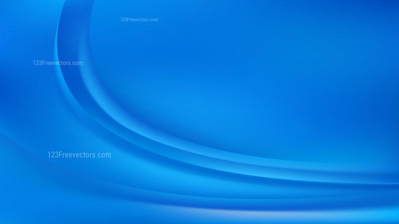Blue Wave Background Illustration