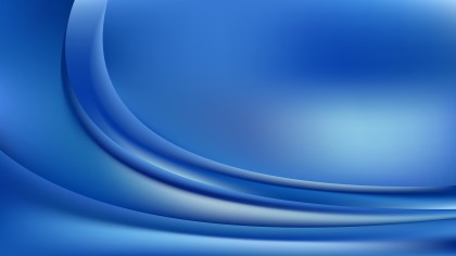 Blue Wave Background Template Vector Graphic
