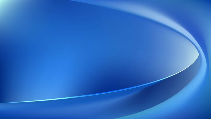 Blue Wave Background Vector Art