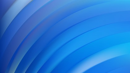 Abstract Blue Shiny Curved Stripes Background