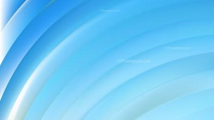 Blue Curved Stripes