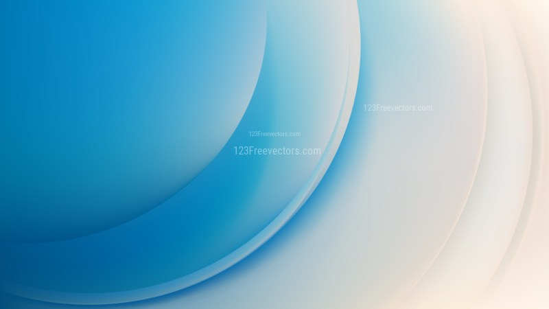 Abstract Blue and Beige Curve Background