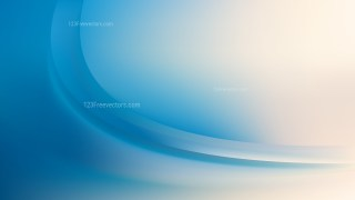 Blue and Beige Abstract Wave Background Template Vector