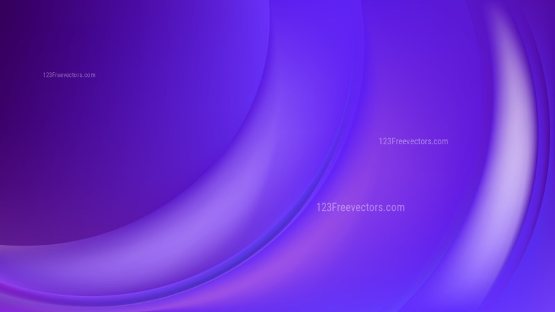 Abstract Blue and Purple Wave Background Image