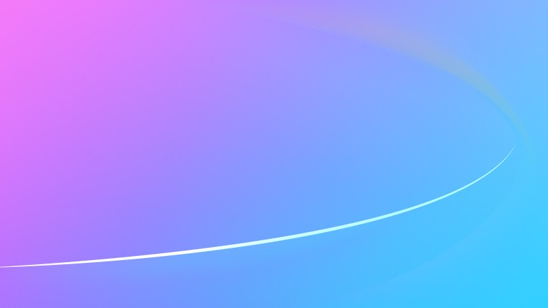 Glowing Blue and Purple Wave Background Graphic