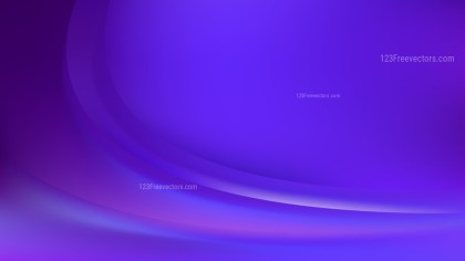 Abstract Blue and Purple Wave Background Template