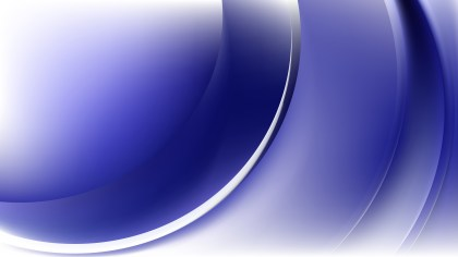 Blue and White Abstract Wave Background Template