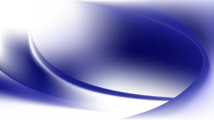 Glowing Blue and White Wave Background Graphic