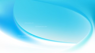 Glowing Abstract Blue and White Wave Background
