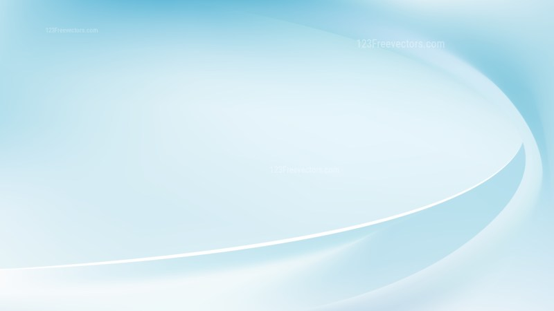 Blue and White Wavy Background